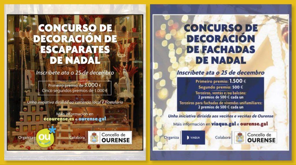 concursos decoración nadal 2020 ourense
