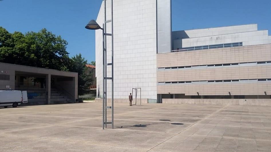 Praza do Auditorio municipal de Ourense
